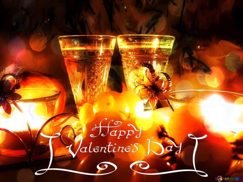 Romance background happy valentines day №15170