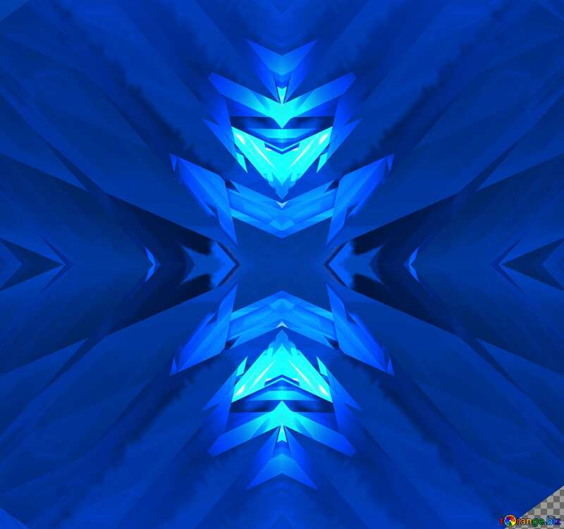 Infographics Texture Futuristic Abstract Computer Pattern Blue №51524