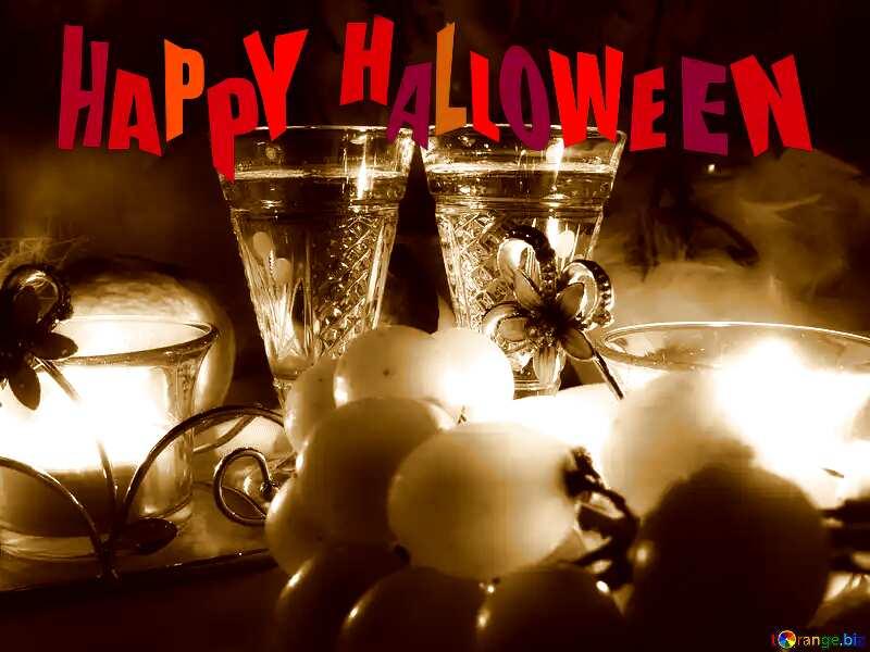 happy halloween Romance background №15170