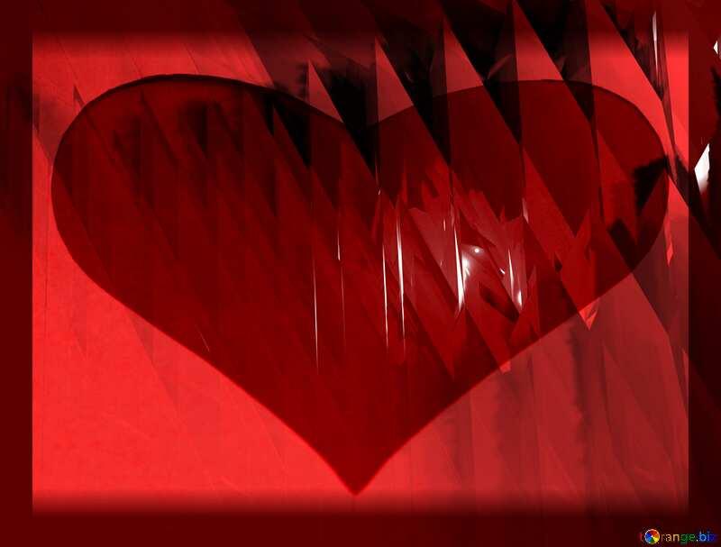 Love Heart Computer Card №51524
