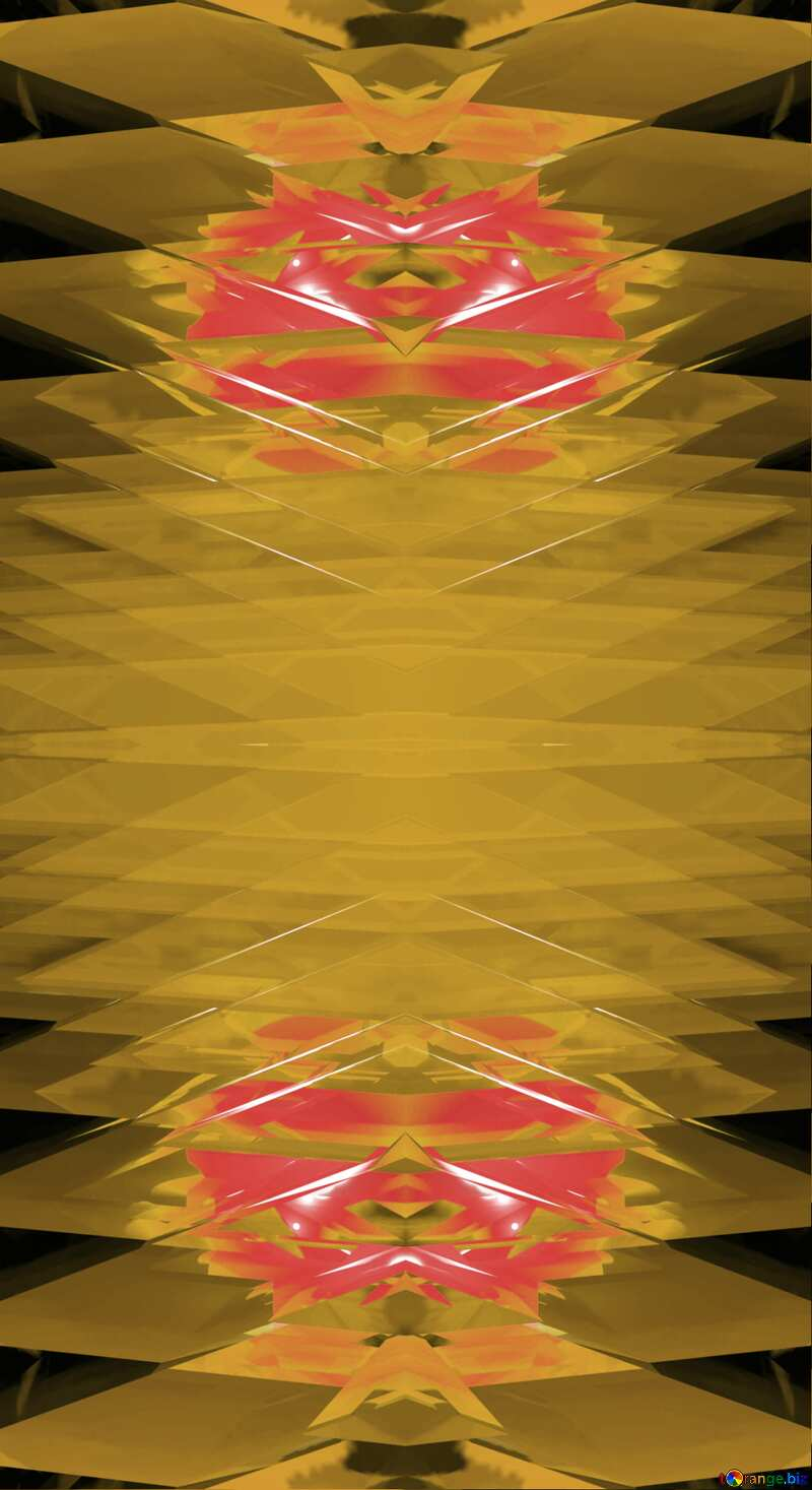 Symmetric Computer Generated Futuristic Pattern Background №51524