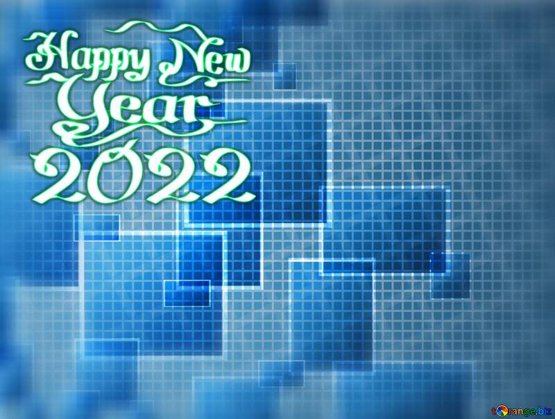 Happy new year 2021  Technology background №49678