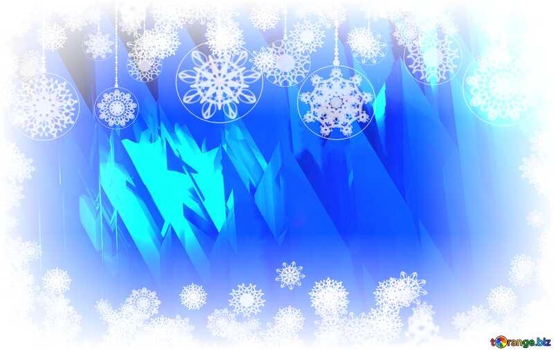 Winter Snowy Snow Frozen ice   Background №51524