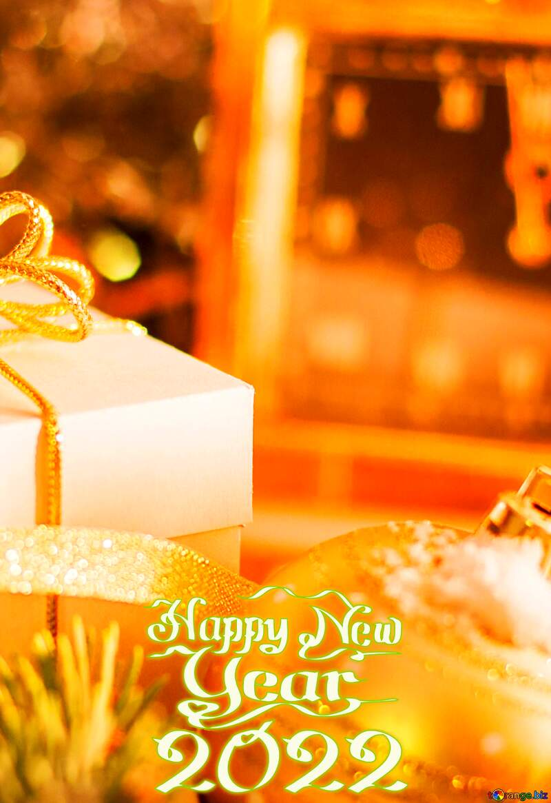 2020 Happy New Year Christmas  Greeting card №15364