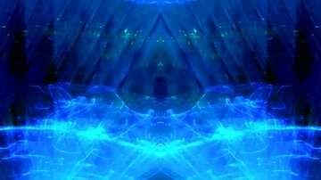 El efecto de teñido azul. Fragmento. Marco con un patrón.