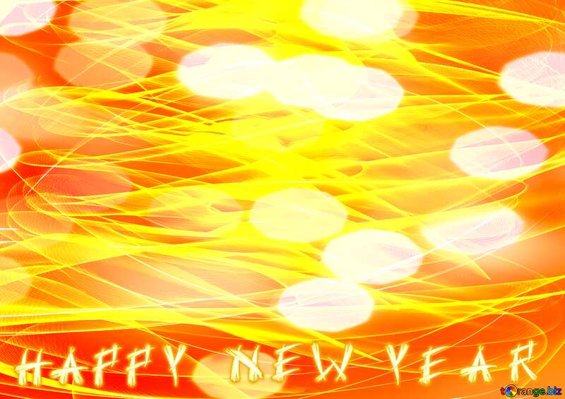 A beautiful picture for the background Happy New Year №40597