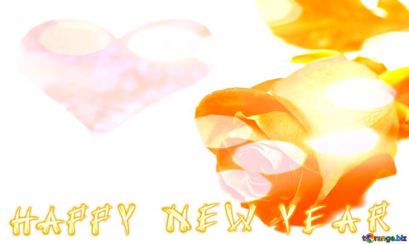 Happy New Year Background love №7273