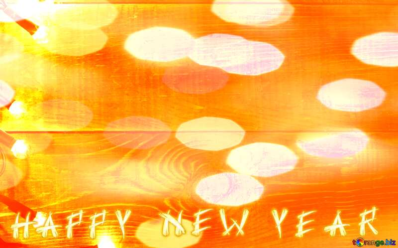 Happy New Year Christmas background №37894