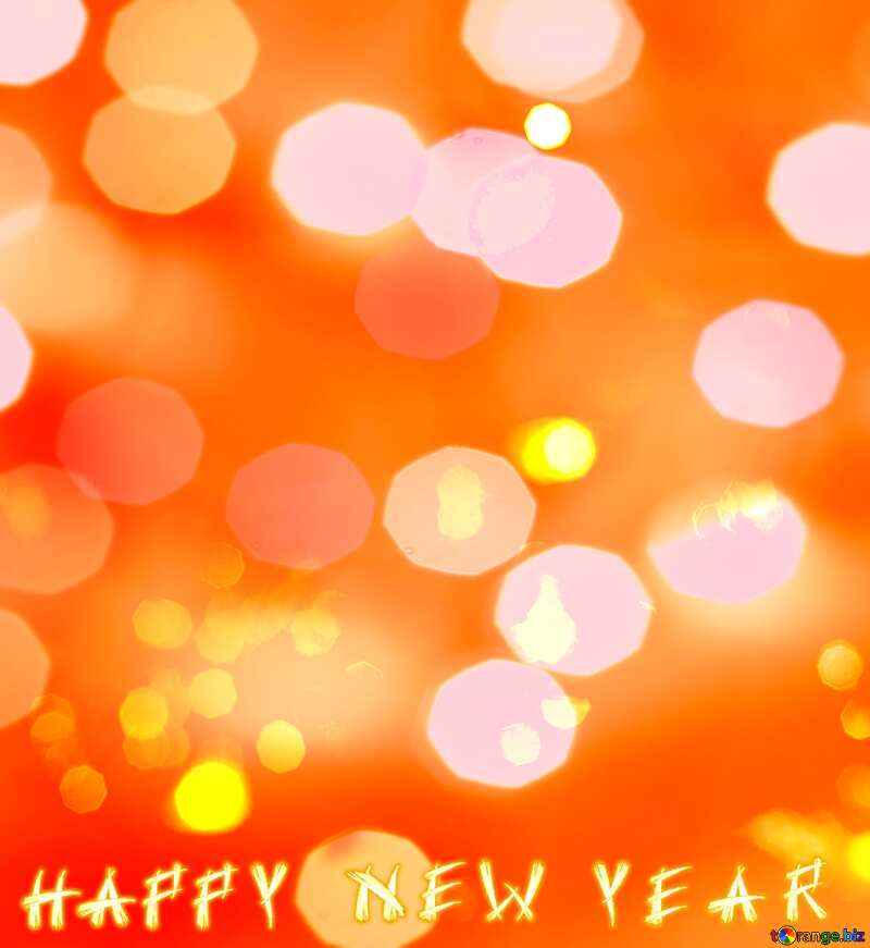 Happy New Year Christmas background №15110