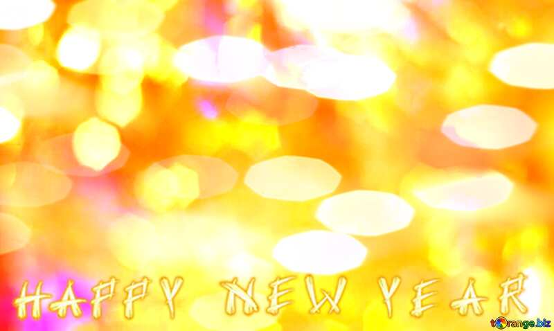 Happy New Year Color  festive  background. №7343