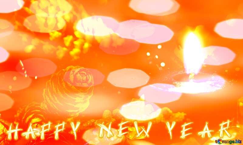Happy Year New year background Desktop №15033