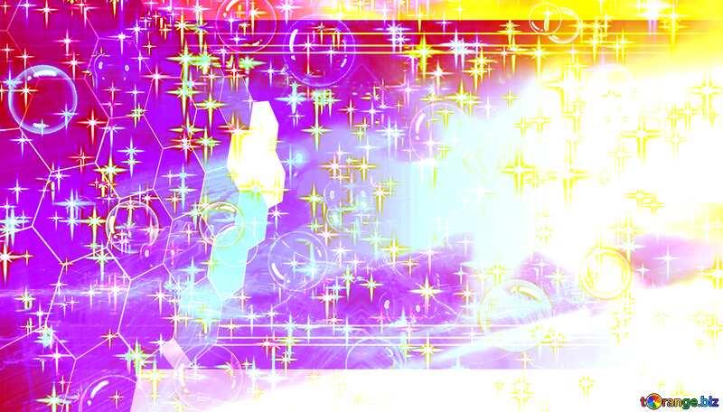 Lights template Gala Celebratory Concept Tech Background Pink №39935