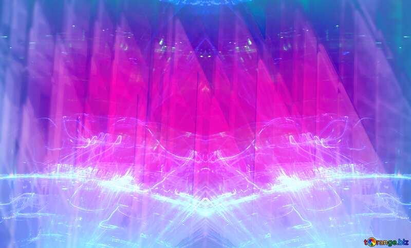 Lights template pink  Futuristic Shape Technology Template №51526