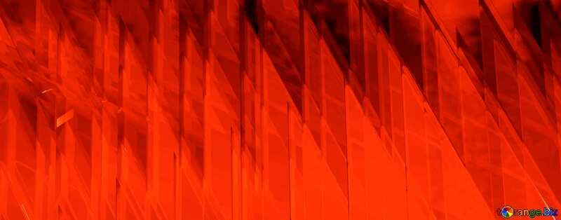 Red futuristic shape.  3D rendering geometric technology illustration. №51526