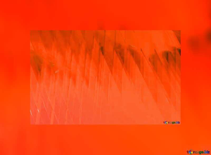 Red futuristic shape.  3D rendering geometric technology illustration.  Blue Frame №51526