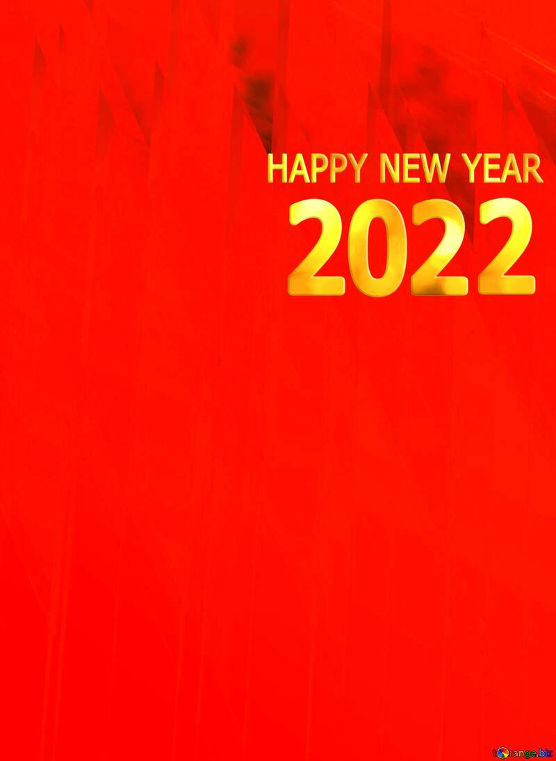 Red futuristic shape.  3D rendering geometric technology illustration.  Happy New Year 2022 №51526