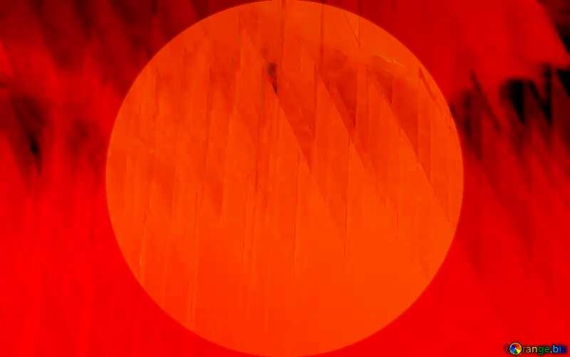 Red futuristic shape.  3D rendering geometric technology illustration.  Presentation Infographic Template №51526
