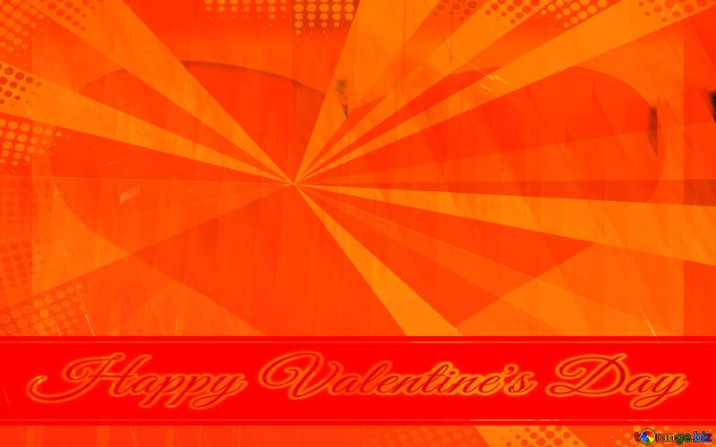 Red futuristic shape.  3D rendering geometric technology illustration.  Retro Style Background Card Greeting Valentine`s Day Happy №51526