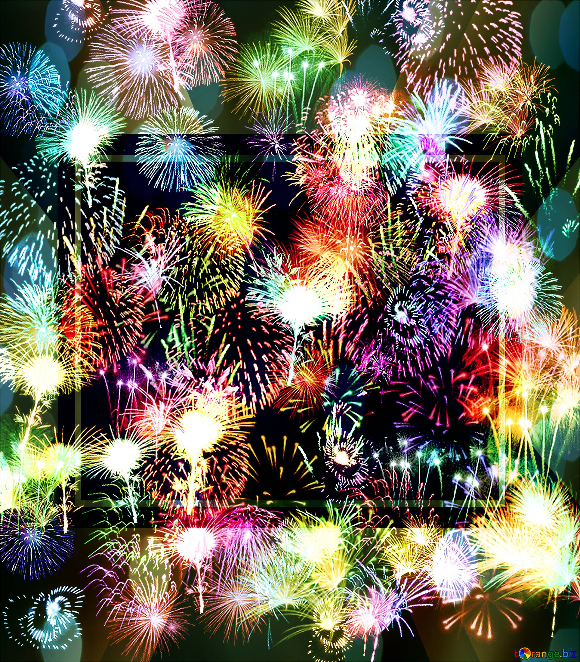 Download free picture Background fireworks powerpoint ...