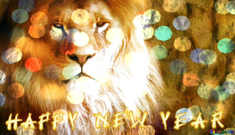 lion happy new year №44974