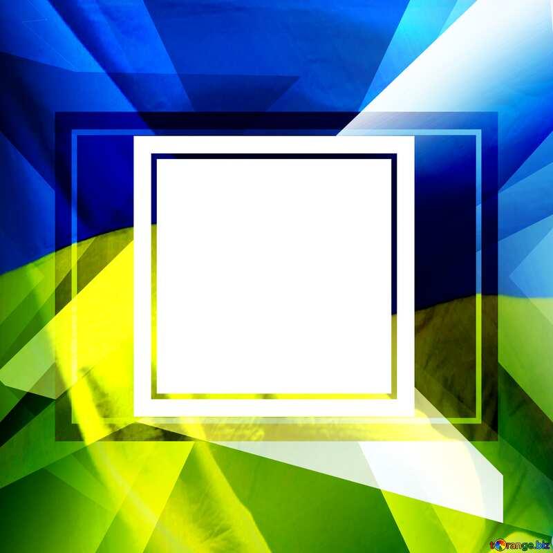 Ukrainian illustration template frame    powerpoint website infographic template banner layout design responsive brochure business №49675