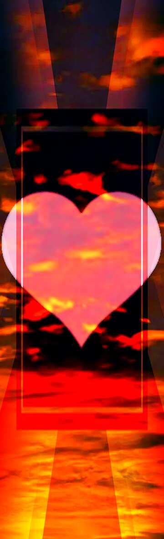 Sehr klare Farben. Bruchstück. Liebe Hintergrund.