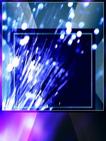 Blur dark frame. Fragment.