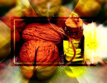 Very Vivid Colours. Blur frame. Fragment.