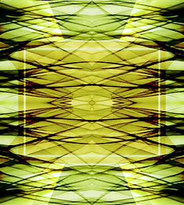 The effect of rotation. The effect of the hard dark. The effect of stained green. Fragment. Pattern.
