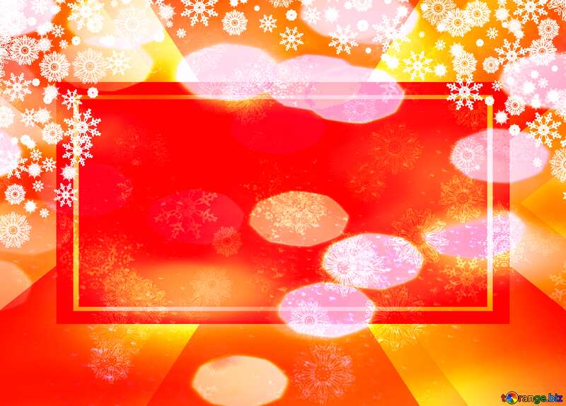 Red Christmas background powerpoint website infographic template banner layout design responsive brochure business №40659