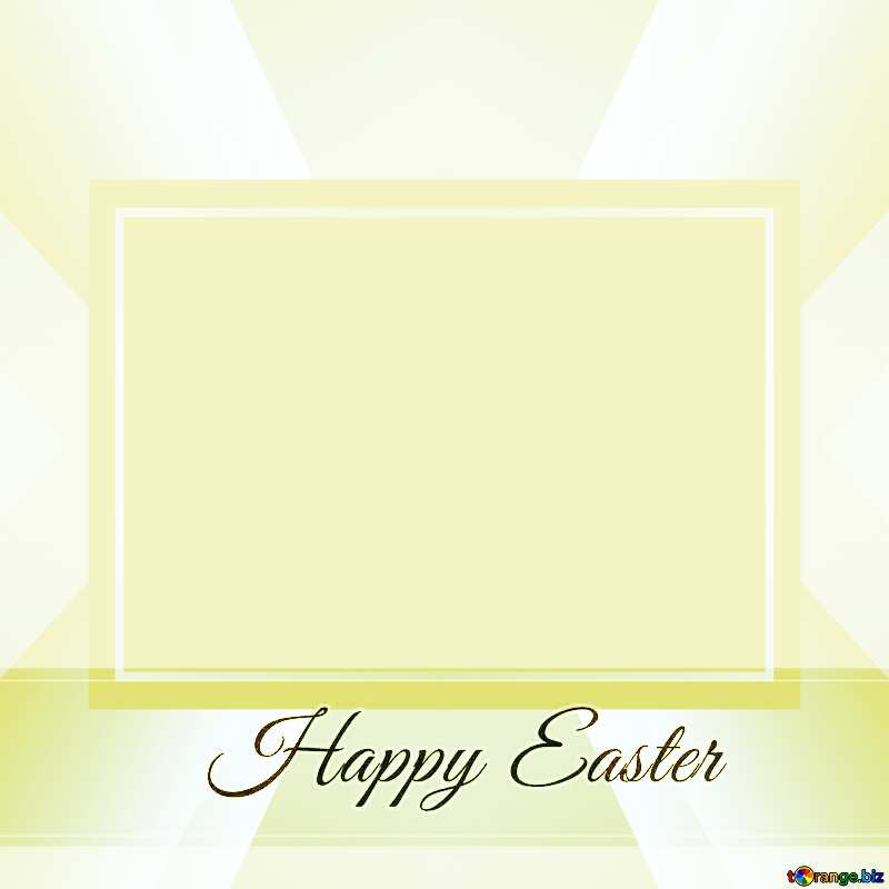 Inscription Happy Easter    powerpoint website infographic template banner layout design responsive brochure business №49668