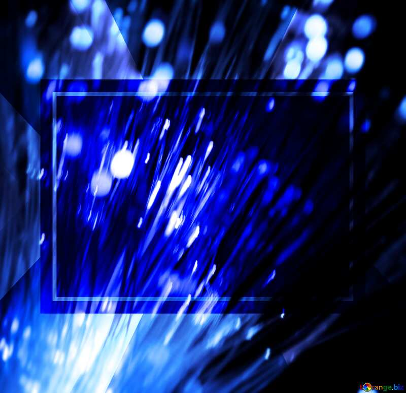 Optical fiber powerpoint website infographic template banner layout design responsive brochure business №41330