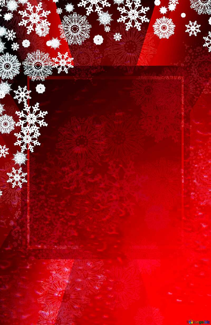 Red Christmas background powerpoint website infographic template banner layout design responsive brochure business Card №40659