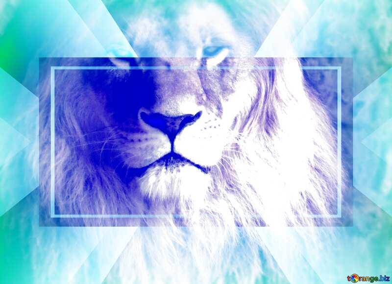 lion light blur frame powerpoint website infographic template banner layout design responsive brochure business №44974