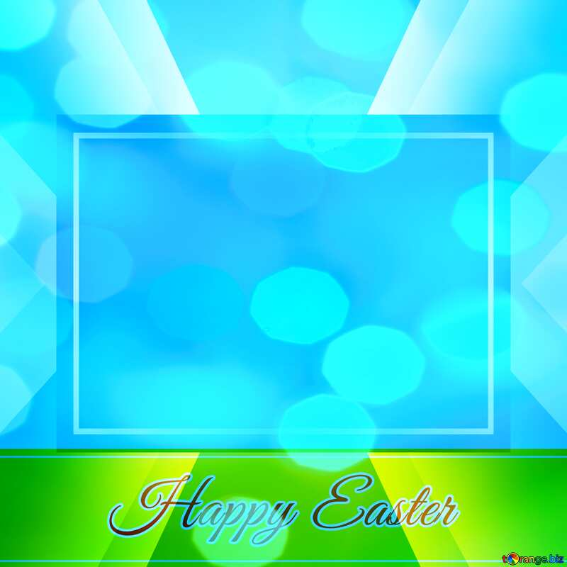 Happy Easter card write text background       powerpoint website infographic template banner layout design responsive brochure business №49668