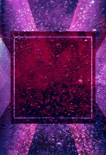 L'effetto di rotazione. L'effetto della luce. L'effetto di macchiato rosso.