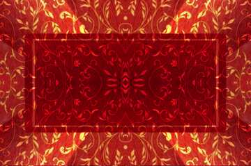 The effect of contrast. The effect of stained red. Fragment. Frame Pattern.
