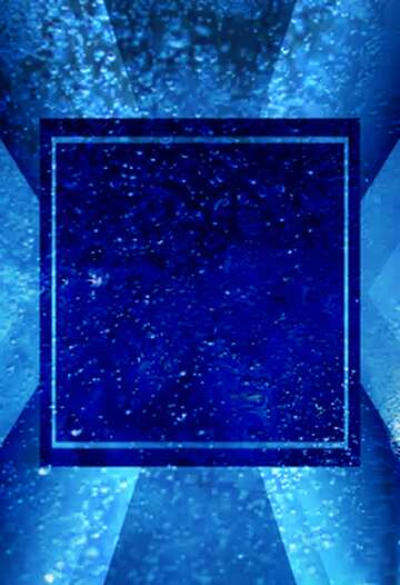 The effect of rotation. The effect of light. The effect of stained blue.