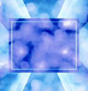 Die Wirkung der Spiegel. Die Wirkung von Licht. Die Wirkung von blau gefärbt.