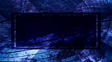 The effect of the hard dark. The effect of stained bright blue. Fragment.