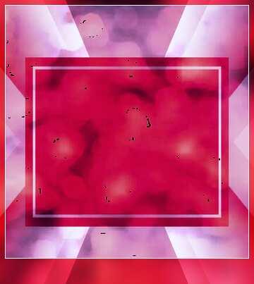 Die Wirkung der Spiegel. Die Wirkung von rot gefärbt. Unschärfe Rahmen.