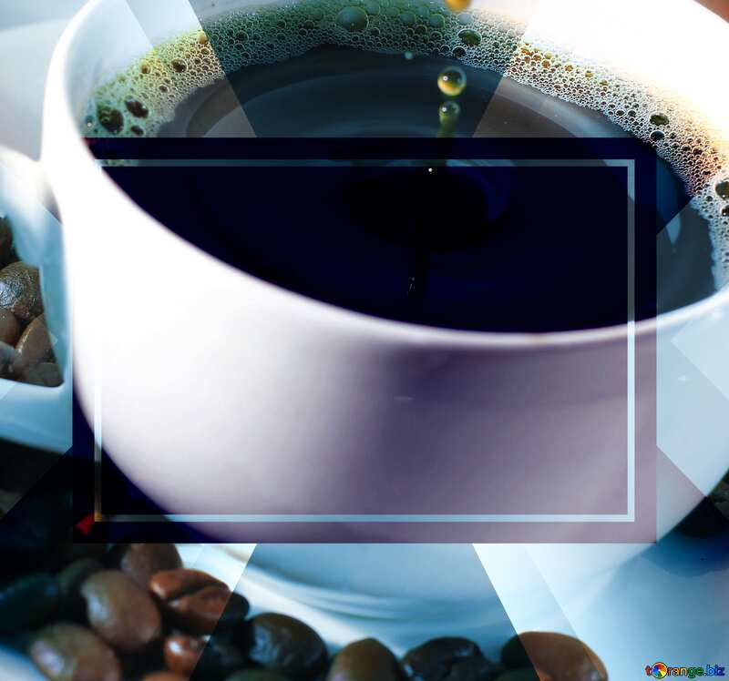 Drop coffee powerpoint website infographic template banner layout design responsive brochure business №30848