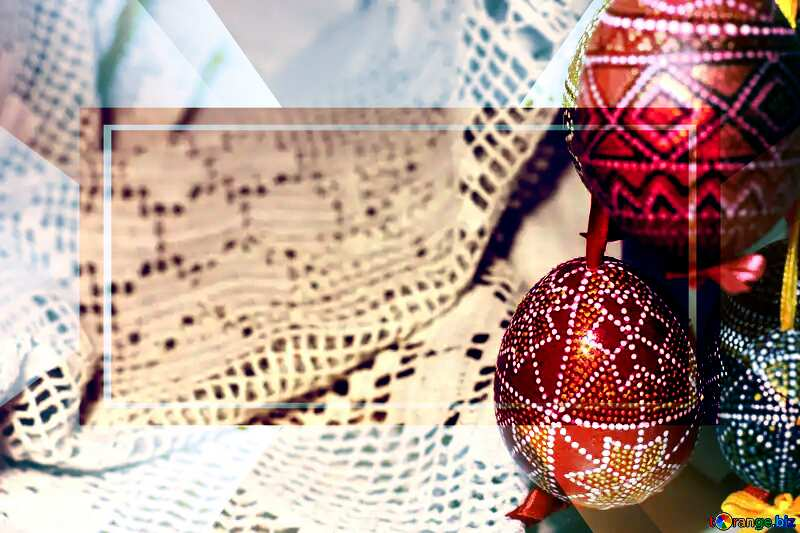 Banner Template Background Easter №29719