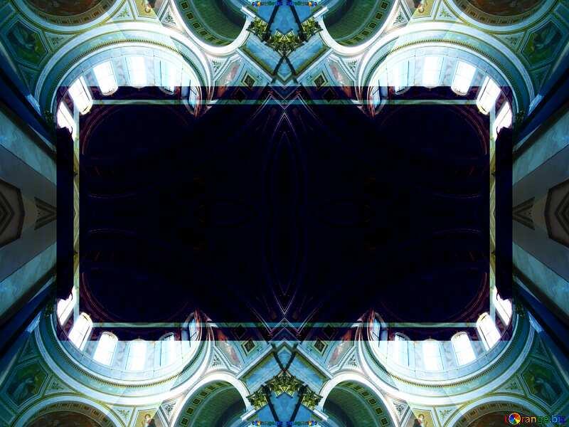 Church Banner pattern frame №31843