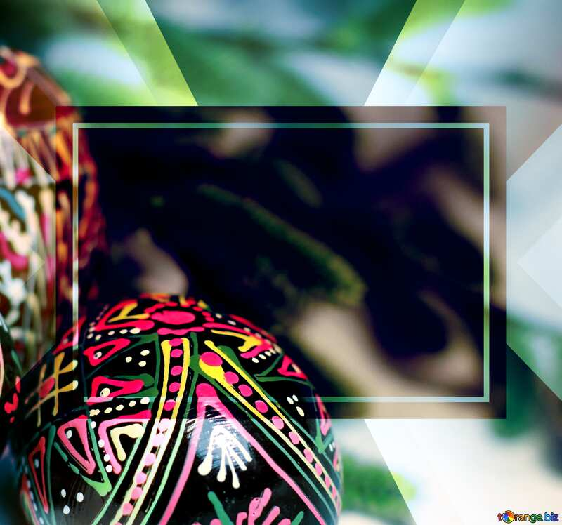 Easter Twigs Template №29564
