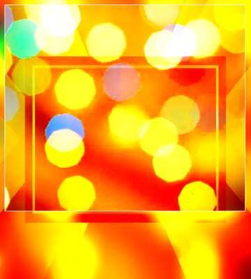Die Wirkung von viel Licht. Sehr klare Farben. Unschärfe Rahmen. Bruchstück.