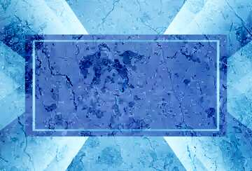 Die Wirkung der Spiegel. Die Wirkung des dunklen. Die Wirkung von blau gefärbt.