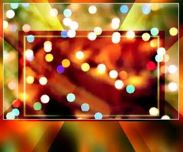 Blur dark frame.