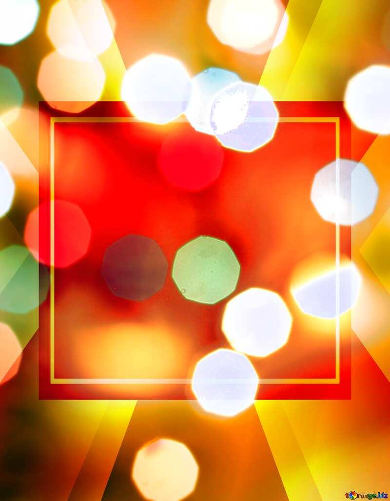 Bokeh background Christmas background №24617