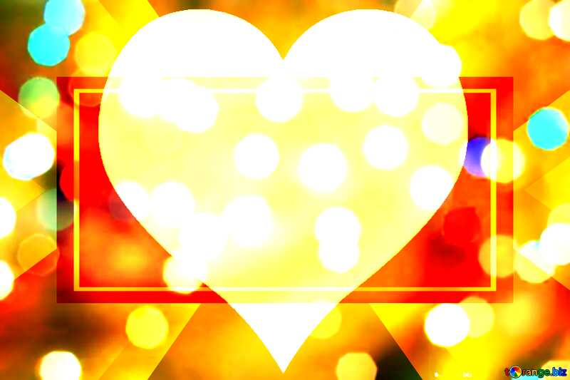 Christmas love background Responsive Design Banner Background №24617